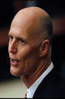 Gov. Rick Scott Democrats zero in on Scott in Presidential Election