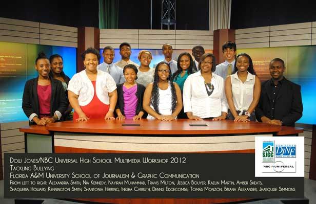workshop Fifteen teens tackle bullying in multimedia workshop at FAMU