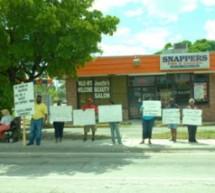 Racial slur causes protest against  Pompano Beach restaurant