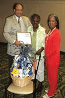 HOSPITAL AMBASSORDOR Hospital ambassador recognized for community advocacy