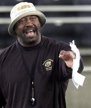 UAPB Coach Monte Coleman UAPB's Coleman, MVSU's Morgan named Eddie Robinson Award finalists