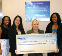 BrightStar raised monies to help the American Red Cross to assist in the Hurricane Sandy Relief effort.