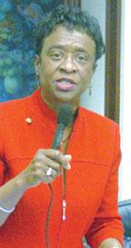 Florida Legislative Artheni Florida Legislative Black Caucus Chair Senator Arthenia Joyner responds to Governor Rick Scott's 2013 2014 Budget Proposal