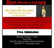 "Dr. Jawanza Kunjufu ""The Guidance of youth to Adulthood"""