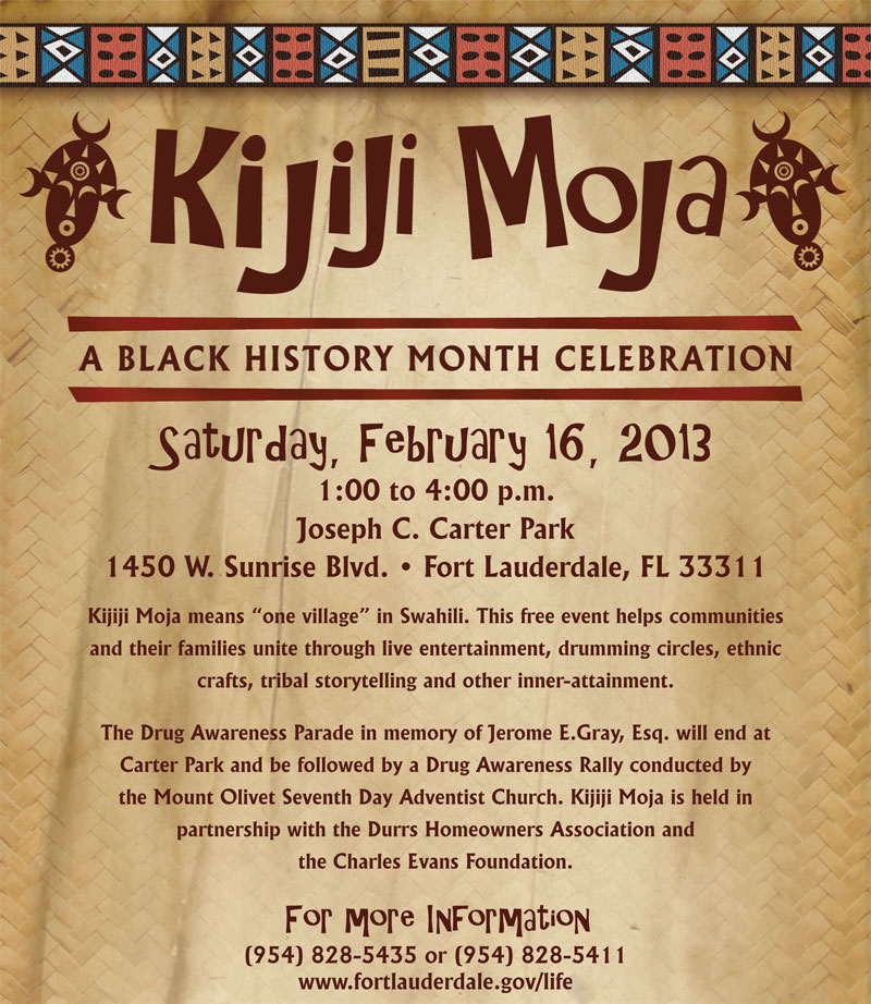 kijijimoja Celebrate February as Black History Month