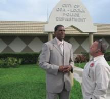 Jeffrey Key begins job as Opa locka police chief