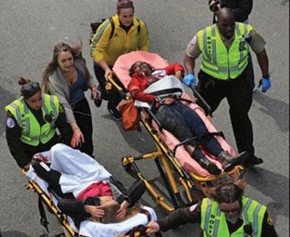 130415164738 14 boston mara Boy, 8, one of 3 killed in bombings at Boston Marathon; scores wounded
