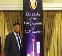 Jesse Jackson Honored for Anti-apartheid Work
