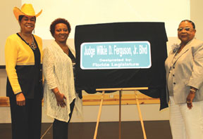 Congresswoman Frederica Wilson honored late pioneering Judge Wilkie D. Ferguson, Jr.