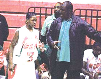 Jalen and coach Ran Mr. Randall, a mentor, a coach and friend