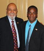 Fort Lauderdale High student Elijah Manley visits Capitol Hill