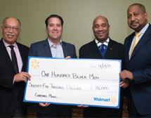 One Hundred Black Men awarded $75,000 Walmart Foundation