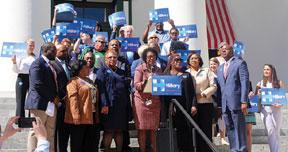 Blk-Caucus-Hillary