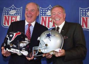 NFL owners: Bob McNair (l) and Jerry Jones
