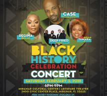 Black History Celebration Concert Saturday, February 3, 2018