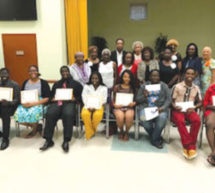 NWFWC-DHS Alumni scholarship award ceremony
