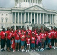 Girl Scouts of New Mount Olive invade Washington, D.C.