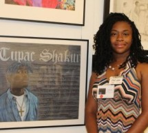 2012 Congressional Art Competition winner Nakeya Wilson