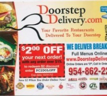 Doorstep Delivery – Your Favorite Restaurants Delivered to Your Doorstep