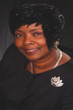 First Lady Dr. Ophelia Sanders