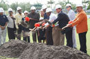 GROUND BREAKING4 City of Fort Lauderdale and Orange Bowl Committee join forces to build $3 million renovation project at Carter Park