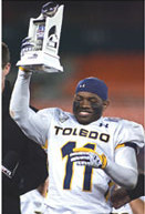 Bernard Reedy, Jr. is making his mark at the University of Toledo