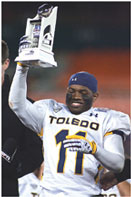bernard reedy Bernard Reedy, Jr. is making his mark at the University of Toledo