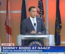 Mitt Romney Booed At NAACP Convention For Saying He Would Eliminate ObamaCare