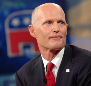 Florida's Governor Rick Scott