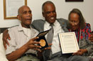 Tuskegee Airmen honored alas with Congressional Gold Medal from Congressman David Scott