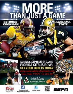 MEACSWAC1 233x300 MEAC/SWAC Challenge presented by Disney   Alabama State vs. Bethune Cookman