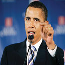 President obama Obama says, 'He is President of America not Black America'