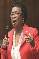 Sen. Arthenia Joyner D Tamp Doah Judge hears arguments on elections law