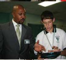 One year after launching the iPad, Archbishop McCarthy High School continues to lead in the integration of technology introduces the iLounge