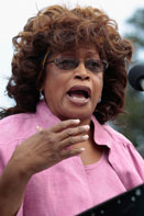 Congresswoman Corrine Brown Judge weighs request to block early voting law