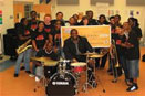 DILLARD JAZZ BAND Dillard Jazz Band invited to perform at International Band Conference