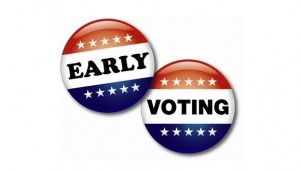 EarlyVoting ButtonLogo 10 300x170 JUDGE WEIGHS REQUEST TO BLOCK EARLY VOTING LAW
