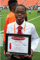5,000 ROLE MODELS OF EXCELLENCE PROJECT STUDENT OF THE WEEK