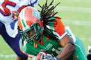 The FAMU  Rattlers dominated the Savannah State Tigers