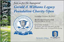GERALD A. WILLIAMS LEGACY2 Prominent Broward leaders to honor history making Florida attorney at charity golf open