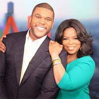 Oprah Winfrey and Tyler Per Tyler Perry to produce two new TV shows on Oprah Winfrey's OWN Network in 2013