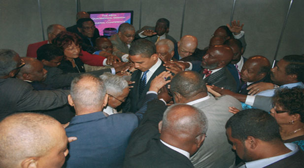 barack obama and black past Souls to the Polls