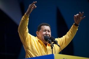 hugo 300x200 Hugo Chavez says hed vote for Obama