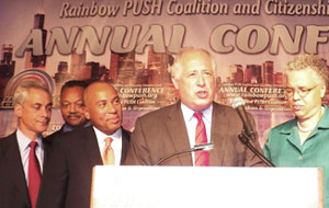 rainbow push conference1 Black owned media suffering slow death, warn advocates