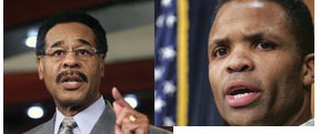 Cleaver and Jackson Chairman of the Congressional Black Caucus  expresses disappointment in Jackson's resignation