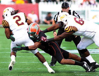 Florida Classic The 2012 Florida Blue Florida Classic ended in dramatic fashion