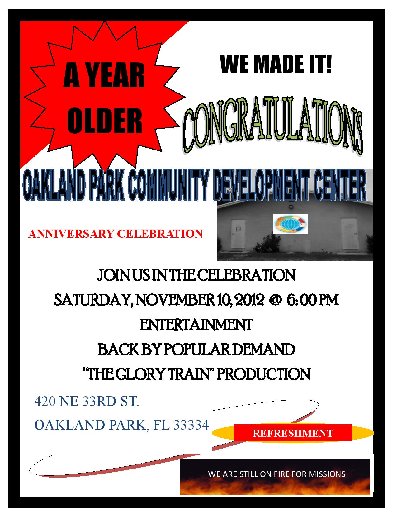 Flyer page 001 ANNIVERSARY CELEBRATION Reminder