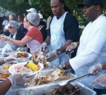 Saint Laurence Chapel Day Shelter team up with Crockett Foundation fourth annual Thanksgiving Feast