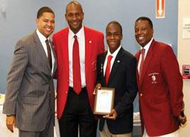 Kappa1this one3 Kappa brothers mentor Broward County teens