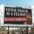 Voter intimidation efforts still in play